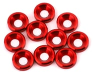 V-Force Designs 3mm Countersunk Washers (Red) (10)   product-related