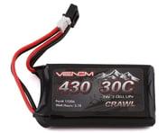 Venom JST-PH 2.0 7.4V 430mAh 2S 30C LiPo Battery for SCX24 VNR15206   product-related