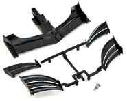 XRAY X1 2018 ETS Composite Adjustable Front Wing (Black) | product-related