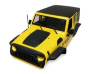 Xtra Speed Jeep Wrangler Hard Plastic Body Kit (Yellow) (313mm)   product-related