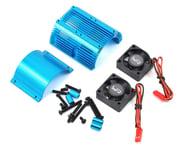 Yeah Racing 1/8 Twin Fan Aluminum Heat Sink w/2 Fans (Blue) (40.8mm diameter)   product-also-purchased