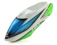 Align T-Rex 470L Painted Canopy V2 (White/Green/Blue) (470L)