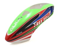 Align T-Rex 500X Painted Canopy (Green/Red/Blue)