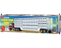AMT 1/25 Wilson Livestock Van Trailer, Model Kit