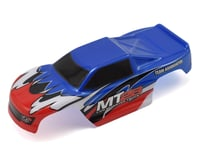 Team Associated SC28 MT28 Pre-Painted Mini Monster Truck Body (Blue)