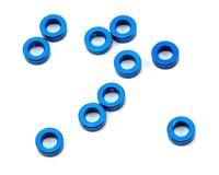 Associated 5.5x2.0mm Blue Aluminum Ballstud Washers ASC31383 (Team MT10)