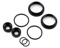 Team Associated RC8B3.2/T3.2 16mm Shock Collar & Seal Retainer Set (Black)