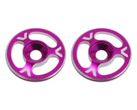 Avid RC Triad Wing Mount Buttons (2) (Pink) (XRAY XB808E)