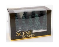 """Bachmann Scenescapes Blue Spruce Trees (6) (5-6"""")"""