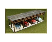 Bachmann Laser Cut Car Shed Kit (HO Scale)
