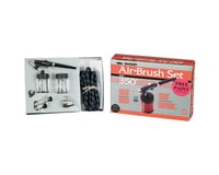 Badger Air-brush Co. 350 Airbrush Set with 3 Heads (F, M, H)