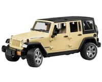 Bruder Toys BTA02525 Bruder Jeep Wrangler Unlimited Rubicon - Colors May Vary