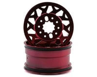 CEN Ford F450 Racing Red with Black Cap American Force H01 CONTRA Wheel CEGCD0601