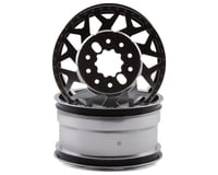 CEN Ford F450 Racing Silver with Black Cap American Force H01 CONTRA Wheel CEGCD0602