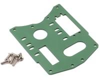CEN Racing Aluminum Engine Plate Green CEGGS041G