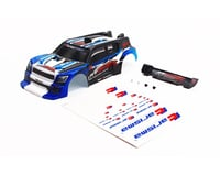 Carisma GT24R Painted and Decorated Rally Body, Blue CIS15646
