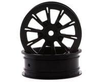 "DragRace Concepts DRC1 Drag Pak AXIS 2.2"" Racing Front Wheels w/12mm Hex (Black) (2)"