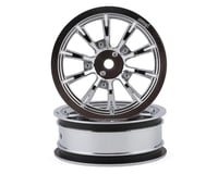 """DragRace Concepts AXIS 2.2"""" Drag Racing Front Wheels w/12mm Hex (Chrome) (2) (Team Associated DR10)"""