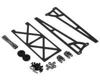 DragRace Concepts Slider Wheelie Bar w/Plastic Wheels (Grey)