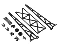 "DragRace Concepts DRC1 Drag Pak 10"" Slider Wheelie Bar w/Plastic Wheels (Grey)"