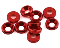 DragRace Concepts 3mm Countersunk Washers (Red) (10)