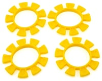 JConcepts Dirt Bands Tire Gluing Rubber Bands in Yellow JCO8115