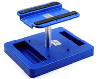 DuraTrax Truck Stand Pit Tech Deluxe Blue DTXC2380