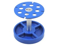 DuraTrax Shock Stand Pit Tech Deluxe Blue DTXC2385