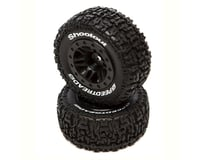DuraTrax F/R SpeedTreads Shootout SC MNTD Tires Black DTXC2931