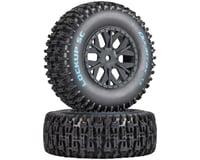 DuraTrax Lockup SC Tire C2 Mounted ASC SC10 4x4 (2) DTXC3674