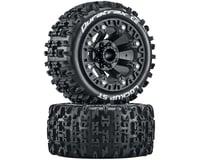 DuraTrax Lockup ST 2.2 Black Pre-Mounted Tires (2) DTXC5101