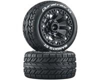DuraTrax Bandito ST 2.2 Black Pre-Mounted Tires (2) DTXC5105