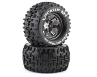 """DuraTrax Lockup MT 2.8"""" Pre-Mounted Monster Truck Tires (Chrome) (2)"""