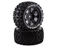 DuraTrax Six Pack X Tires Mounted Black 24mm DTXC5502