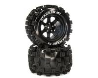 DuraTrax C2 14mm Black STAKKER MT 2.8 Mounted F/R Tires (2) DTXC5564
