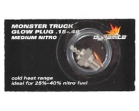 Dynamite Nitro Monster Truck Plug Medium .18-.46 DYN2495