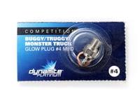 Dynamite Platinum Glow Plug Medium 4 DYNP5604
