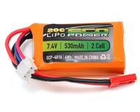 """EcoPower """"Electron"""" 2S LiPo 20C Battery (7.4V/530mAh) (Panda Hobby Tetra X1)"""