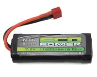 EcoPower 6-Cell NiMH 2/3A Stick Battery w/T-Style Connector (7.2V/1600mAh)