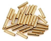 E-Flite Gold Bullet Connectors Female 4mm EFLAEC514