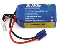 E-Flite 22.2v 910mAh li-po battery EFLB9106S30