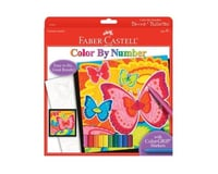 Faber-Castell Color by Number Bloomin Butterflies