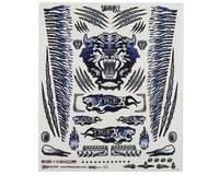 "Firebrand RC Concept Tiger Decal Sheet (Blue) (8.5x11"")"