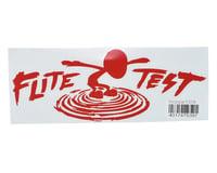 "Flite Test Guinea Pig 10.5"" Die Cut Gremlin Logo Vinyl Decal (Red)"