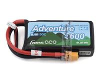 Gens Ace Adventure High Voltage 3600mAh 3S1P 11.4V 50C Lipo Battery with XT60 Plug GA-A-50C-3600-3S1P-S-HV-XT60