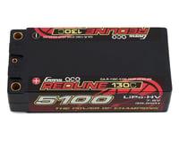 Gens Ace Redline Series 5100mAh 7.6V 130C 2S2P HardCase HV Shorty Lipo Battery GA-R-130C-5100-2S2P-HC65-HV