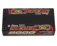 Gens Ace Redline Series 8000mAh 3.8V 130C 1S2P HardCase HV Lipo Battery GA-R-130C-8000-1S2P-HC58-HV-LCG