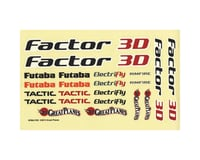 Great Planes Decals Factor 3D EP ARF GPMA2111