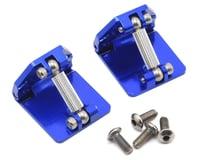 Hot Racing Traxxas M41 Aluminum Adjustable Trim Tabs in Blue HRADCB311AR06