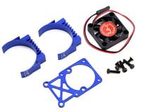 Hot Racing Blue Multi Mount Fan Heat Sink 36mm Motors HRAMH550TE06